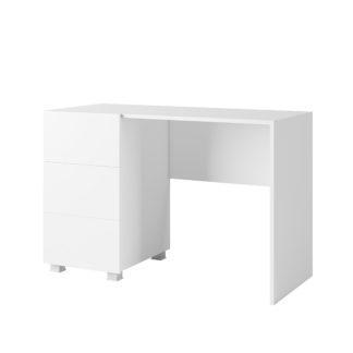 CALABRINI psací stůl, bílá