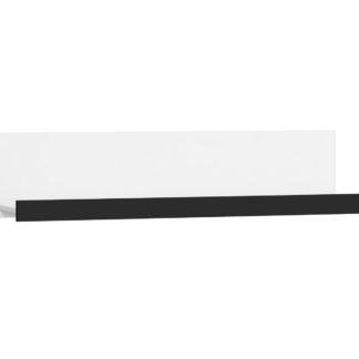 VERIN/12, police M, bílá/černý lesk