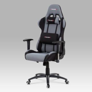 Kancelářská židle KA-F01 GREY, šedá