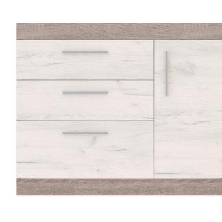 VN 2 - VENECIA komoda, dub truflový/dub bílý