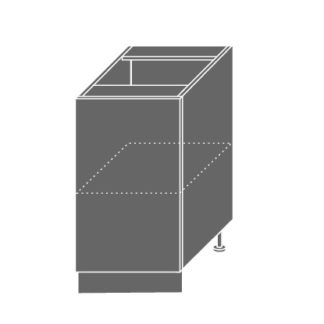 EMPORIUM, skříňka dolní D1D 45, korpus: lava, barva: light grey stone