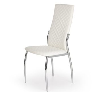 Jídelní židle K-238, krémová