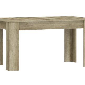 Jídelní stůl SKAY SL140, country šedý
