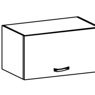 SYCYLIA, skříňka horní G60K, borovice andersen