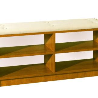 BRAVO, čalouněná lavice, barva: olše, látka: béžová ekokůže