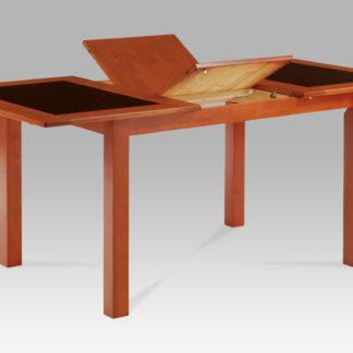 Jídelní stůl dřevo AUT-557 TR2, tř.+sklo