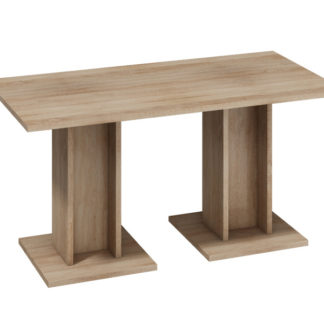 BOND, stůl velký, dub sonoma světlý