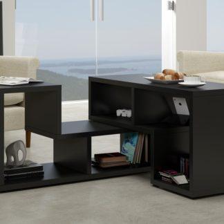 Konferenční stolek TOP, černá