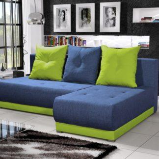 Rohová sedačka INSIGNIA 15, modrá/zelená