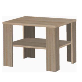 INTERSYS konferenční stolek, dub sonoma tmavý truflový