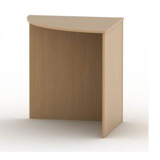 TEMPO AS NEW 024 stůl rohový obloukový, buk