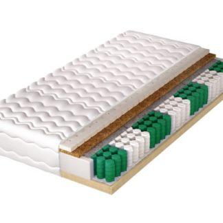Pružinová matrace s pevným rámem HELVETIA LUX 140x200 cm