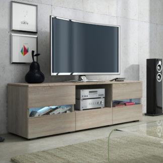 GLOBAL 2 televizní stolek, dub sonoma