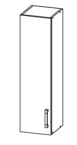 FIORE horní skříňka G30/95, korpus bílá alpská, dvířka bílá supermat