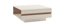 LINATE/70, konferenční stolek, alpská bílá/trufla