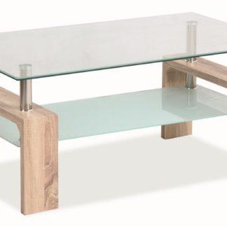 LISA BASIC, konferenční stolek, dub sonoma