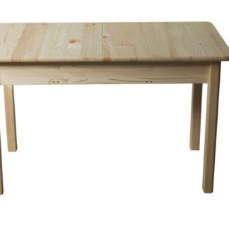Stůl 120/170 x 80 cm nr.8, masiv borovice/moření: ...