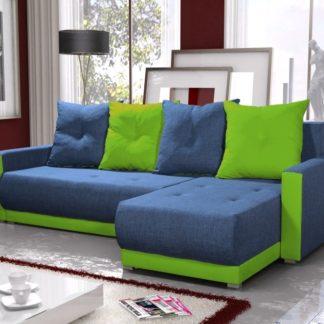 Rohová sedačka INSIGNIA BIS 15, modrá/zelená