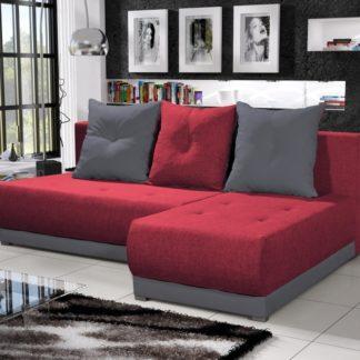 Rohová sedačka INSIGNIA 18, červená/šedá