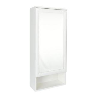 Skříňka se zrcadlem APOLON PA5, bílá