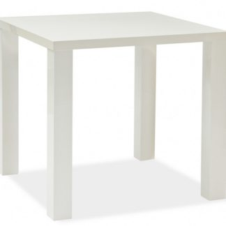 Jídelní stůl MONTEGO 80x80 cm, bílá