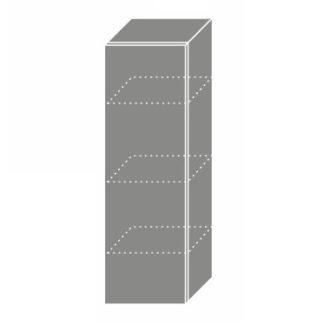 PLATINUM, skříňka horní W4 30, korpus: lava, barva: black
