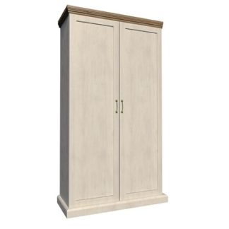ROYAL šatní skříň S2D, borovice norská/dub divoký
