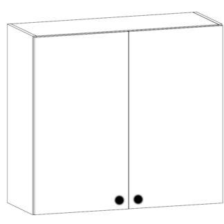 PROWANSJA horní skříňka s odkapávačem G80C, borovice andersen