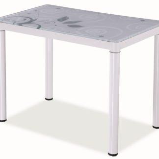 Jídelní stůl DAMAR 80x60, bílý