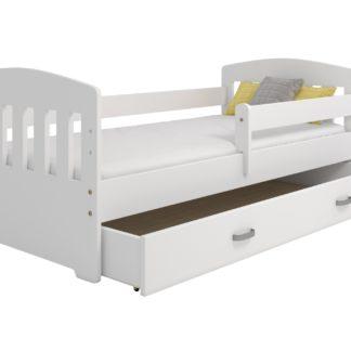Dětská postel MIKI B6 80x160, bílá + barva čela: …