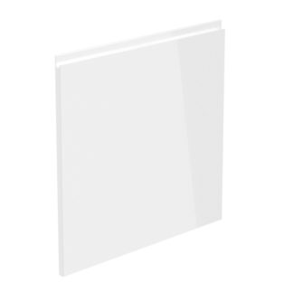 ASPEN, dvířka na myčku 60/57, bílý lesk