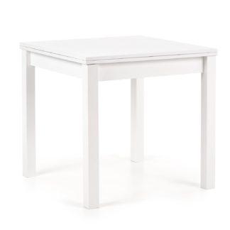 Jídelní stůl rozkládací GRACIAN, bílá