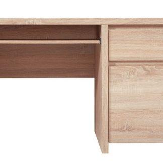 Elegantní PC stůl KASPIAN, BIU1D1S/120, dub sonoma