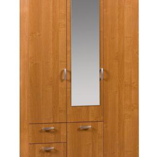 Šatní skříň VENEZIA 2 se zrcadlem, barva: