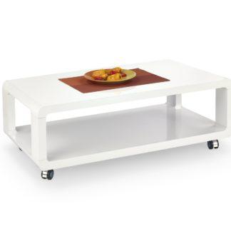 Konferenční stolek FUTURA, bílá