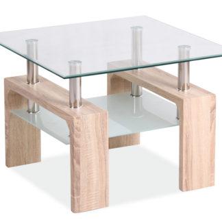 Konferenční stolek LISA D, dub sonoma