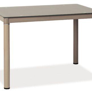 Jídelní stůl GALANT, tmavě béžová