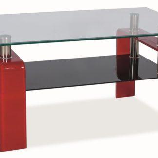 Konferenční stolek STELLA - červený