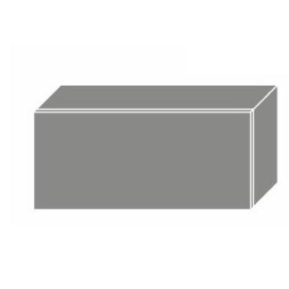 PLATINUM, skříňka horní W4b 80, korpus: lava, barva: white