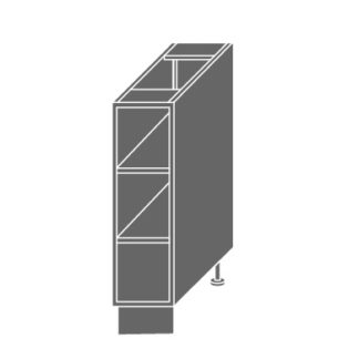 PLATINUM, skříňka dolní D15 O, grey