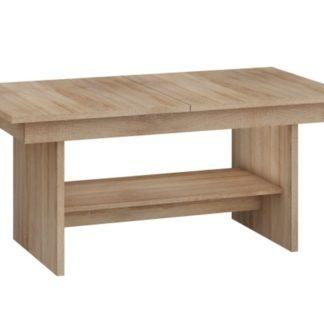 Konferenční stolek DALLAS rozkládací MAT, barva: dub sonoma
