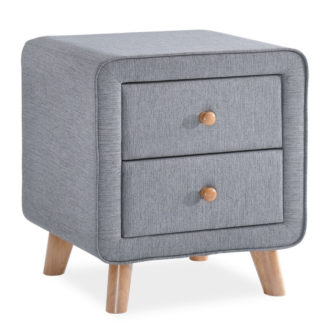 Noční stolek MALMO, šedý