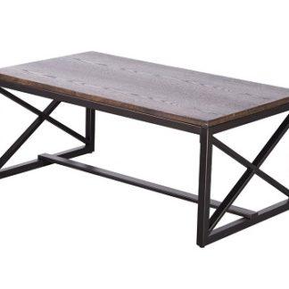 EBAN konferenční stolek, ořech/černá