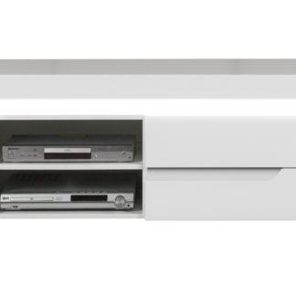 IM1 - Televizní stolek IRMA IM1, bílý vysoký lesk