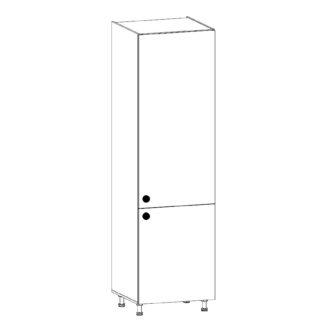 PROWANSJA vysoká skříňka pro vestavnou lednici D60ZL pravá, borovice andersen