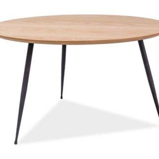 Konferenční stolek LUCCA A, dub/černá