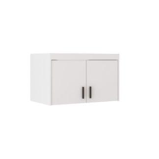 Nádstavec na skříň ELENA 2D, bílá