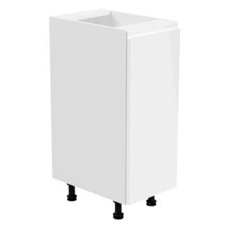 ASPEN, skříňka dolní D30 levá, bílá/bílý lesk