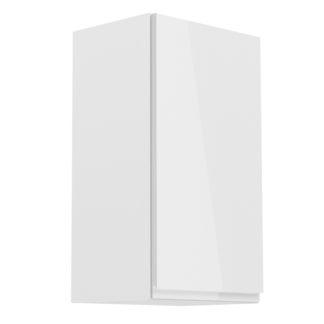 ASPEN, skříňka horní G40 pravá, bílá/bílý lesk