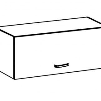 SYCYLIA, skříňka horní nízká G80K, ořech milano